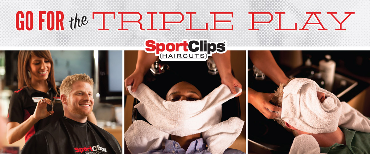 The Sport Clips Haircuts of Pasadena - Mountain Road Triple Play